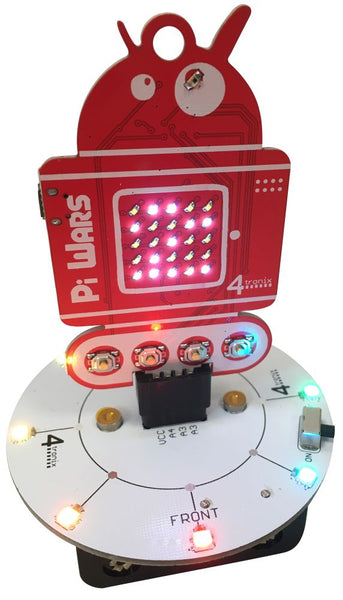 Blinkie LEDs and Base for PiWars 2019 Badge