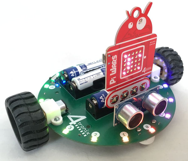 RoundaBot for PiWars 2019 Badge