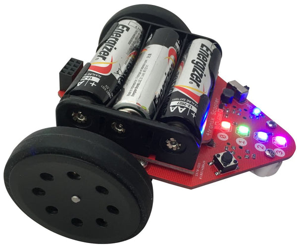 Scooter 2WD Robot for Raspberry Pi Zero