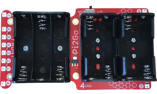 Battery Pack 7xAA for Pi2Go Mk2