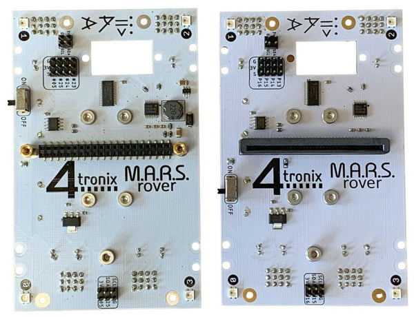 Main Board for M.A.R.S. Rover Robot Microbit or Pi Zero