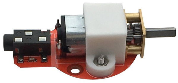 Motor Gizmo for Playground with Wheel (Crumble Only)