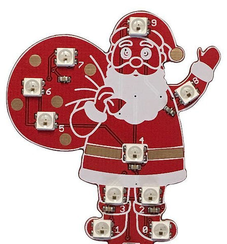 Mk2 Blinky Santa Claus for Music Box