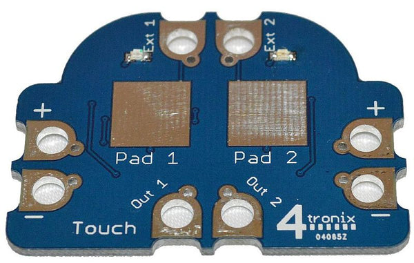 Dual Touch Sensor Crumb Digital Input for Crumble Controller