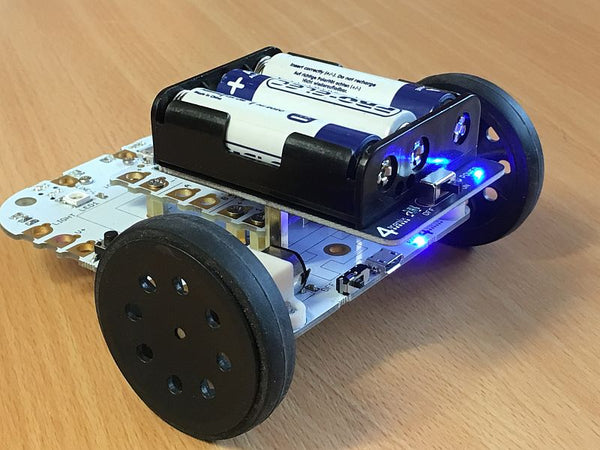 CrumbleBot Mk1 Upgrade - Wire-Free Battery Pack