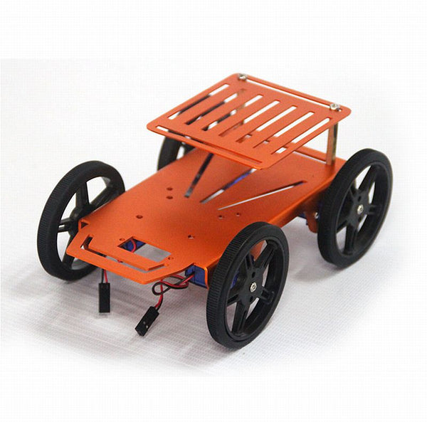 Mini Robot 4WD Chassis Kit - 2 Layers with Motor Driver