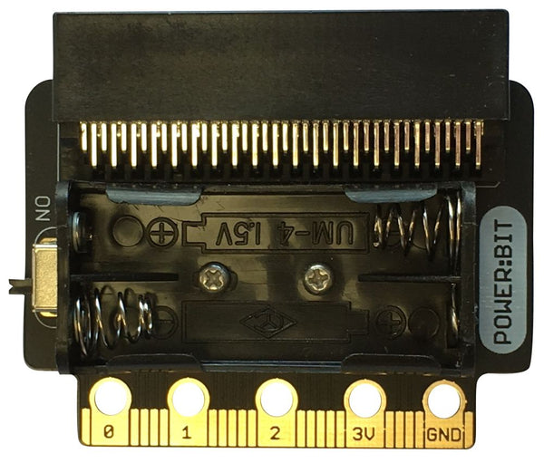 Board Only Power:Bit Battery Power for BBC Micro:Bit (PowerBit for MicroBit)