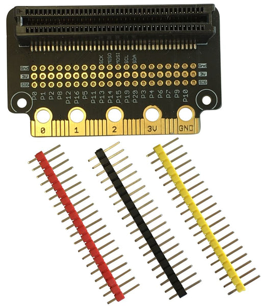 Bit:Zero Breakout for BBC Micro:Bit (BitZero for MicroBit)