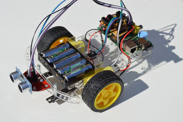 Pizazz 2WD Acrylic Chassis & Motors