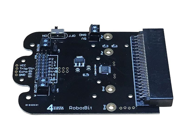 Robo:Bit Robotics controller for the BBC Micro:Bit (RoboBit)