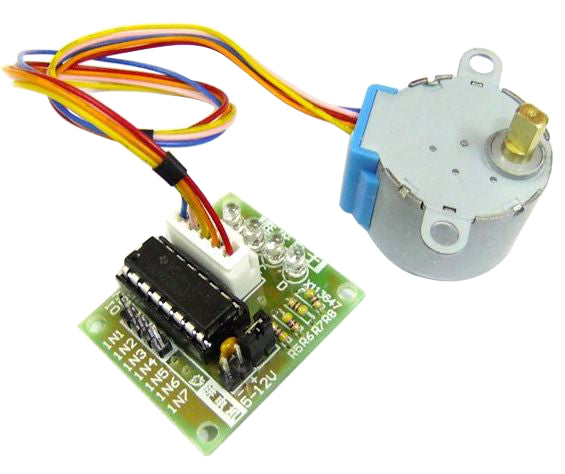 5V 4-Phase Stepper Motor