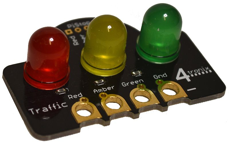 Traffic Lights Crumb Digital Output for Crumble Controller