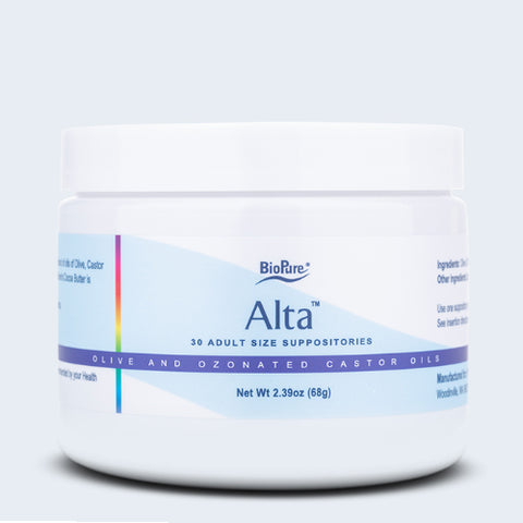 BioPure Alta Suppositories
