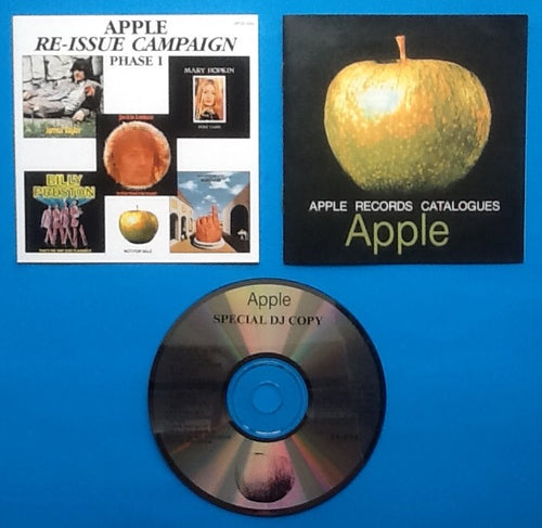 Apple Re-Issue Campaign Phase I NMint Promo 14 Track Compilation CD 1991