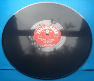 "Beatles A Hard Day's Night - Things We Said Today 2 Track NMint 10"" 78rpm Vinyl Single India"