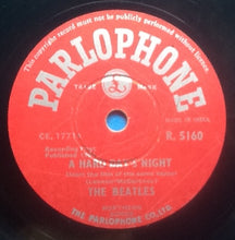 "Load image into Gallery viewer, Beatles A Hard Day's Night - Things We Said Today 2 Track NMint 10"" 78rpm Vinyl Single India"