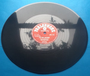 "Beatles I'll Cry Instead - Tell Me Why 2 Track NMint 10"" 78rpm Vinyl Single Indiia"