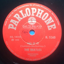 "Load image into Gallery viewer, Beatles Ticket To Ride Yes It Is 2 Track NMint 10"" 78rpm Vinyl Single India"