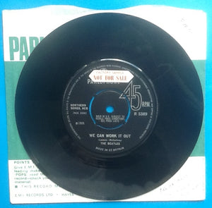 "Beatles We Can Work It Out 2 Track 7"" NMint Factory Sample Demo UK 1965"