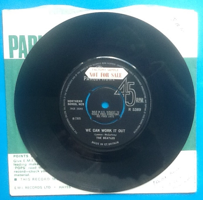 Beatles We Can Work It Out 2 Track 7
