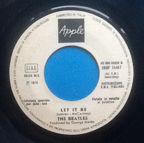 Beatles Let It Be 2 Track 7