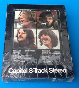 Beatles Sealed 8 Track Let It Be