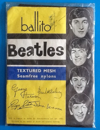 Beatles Still Sealed Ballito Nylon Stockings
