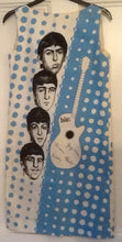 Load image into Gallery viewer, Beatles Blue Sleeveless Dress Holland