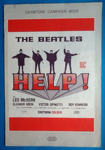 Beatles Help! Exhibitors Campaign Book