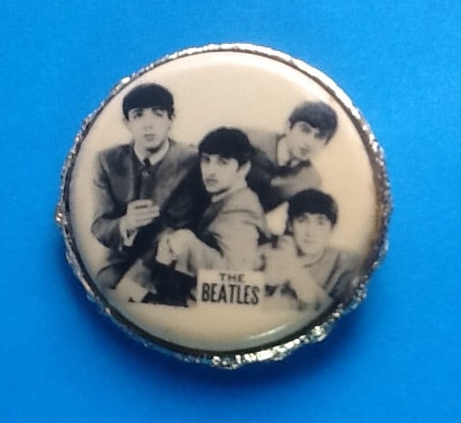 Beatles Original Brooch 1964