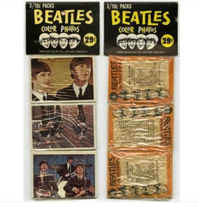 Beatles Unopened Color Photos Pack 1964