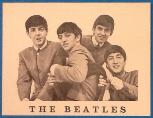 Beatles Promotional Fan Club Card with Monmouth Street London Address 1960s