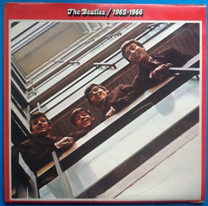 Beatles 1962 - 1966 2 x Vinyl Promo Demo Factory Sample Album LP UK 1973