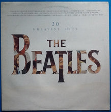 Load image into Gallery viewer, Beatles 20 Greatest Hits 19 Track NMint Factory Sample Promo Demo Album LP UK 1982