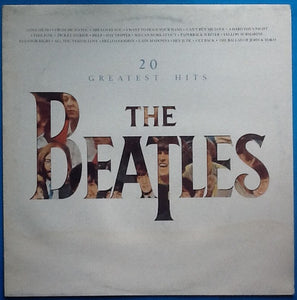 Beatles 20 Greatest Hits 19 Track NMint Factory Sample Promo Demo Album LP UK 1982
