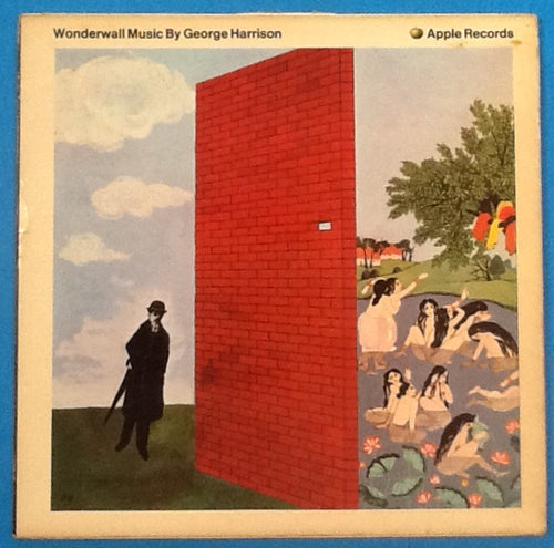 Beatles George Harrison Wonderwall 19 Track First Pressing Mono Album LP Apple UK 1968