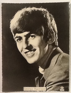 Beatles George Harrison Original Top Star Portrait Photo Postcard TS270 1963