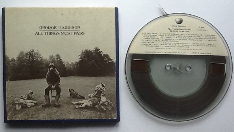 Beatles George Harrison All Things Must Pass Reel To Reel Tape 3 3-4 IPS Stereo USA 1970