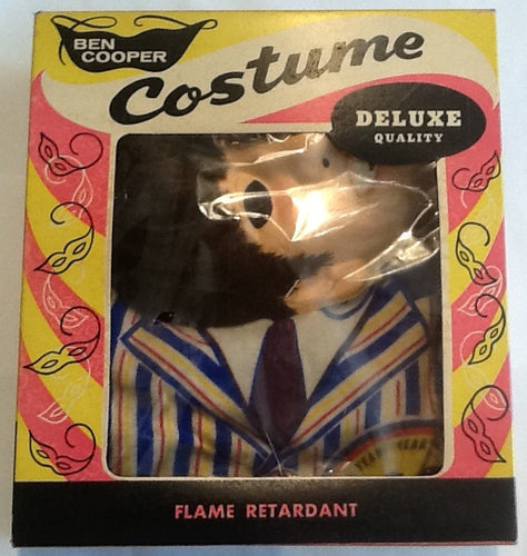 Beatles Unused NMint Halloween Costume Ringo Mfd by Ben Cooper