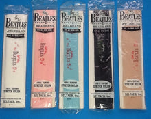 Load image into Gallery viewer, Beatles Set of 5 Different Colour Reversible Headbands