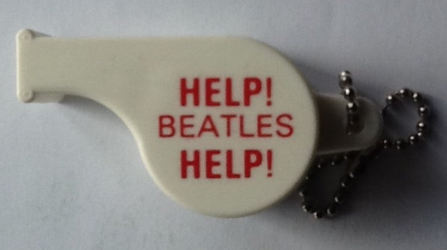 Beatles Help! Original Promotional White Whistle United Artists 1965