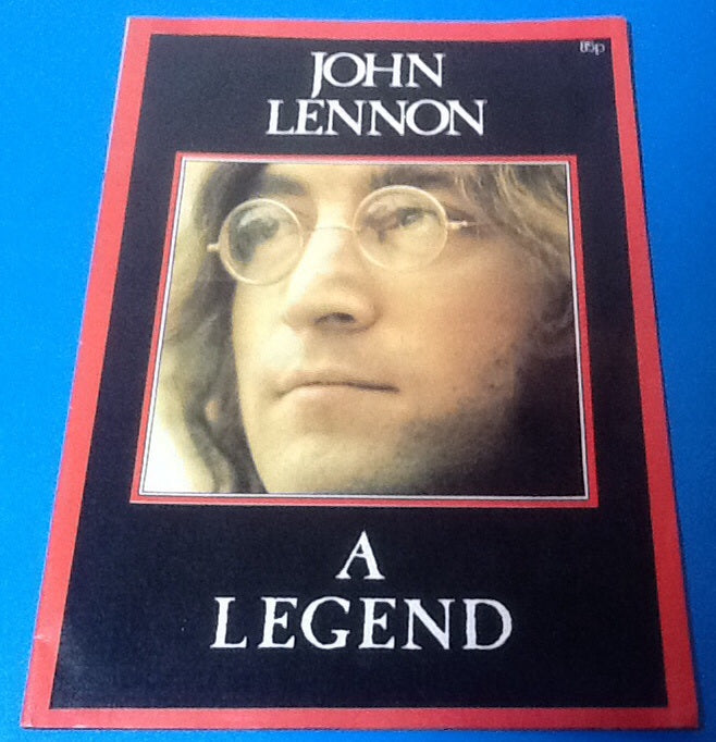 Beatles Lennon Tribute Magazine A Legend 1980