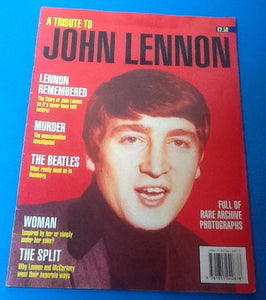 Beatles Lennon Tribute Magazine 1980