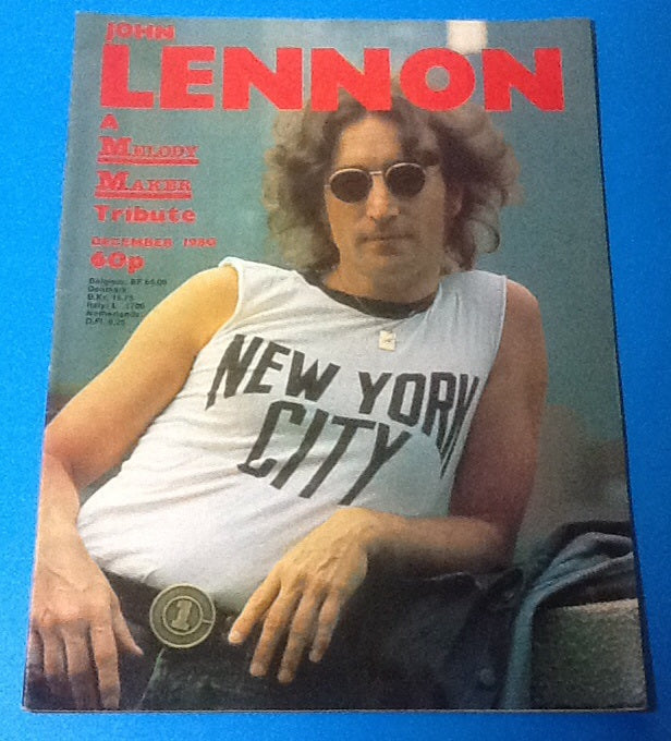 Beatles Lennon Melody Maker Magazine 1980