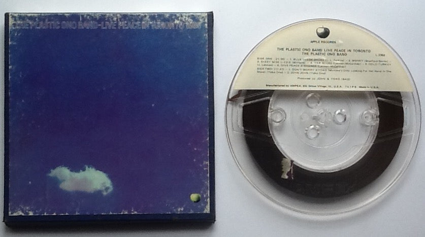 Beatles John Lennon Live Peace in Toronto Reel To Reel Tape 7 1-2 IPS Stereo USA 1969