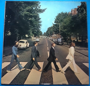 Beatles Abbey Road 17 Track Factory Sample Promo Demo Vinyl LP Album UK 1971