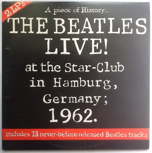 Beatles The Beatles Live! at the Star in Hamburg; 1962 2 x Vinyl Album LP UK 1977