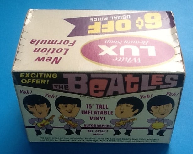 Beatles Unopened Lux Soap Box With Doll Offer and Mail In Sheet