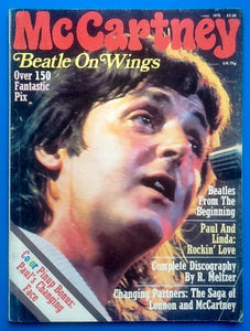 Beates McCartney Magazine Beatle on Wings 1976