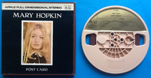 Load image into Gallery viewer, Beatles Mary Hopkin Postcard Reel To Rel Tape Apple Stereo USA 1968